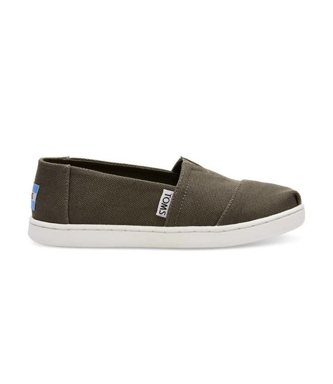 Toms Youth Classic Tarmac Olive