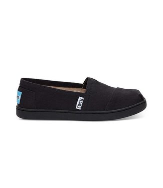 Toms Toms Youth Classic Black Canvas