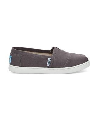 Toms Toms Youth Classic Ash Canvas