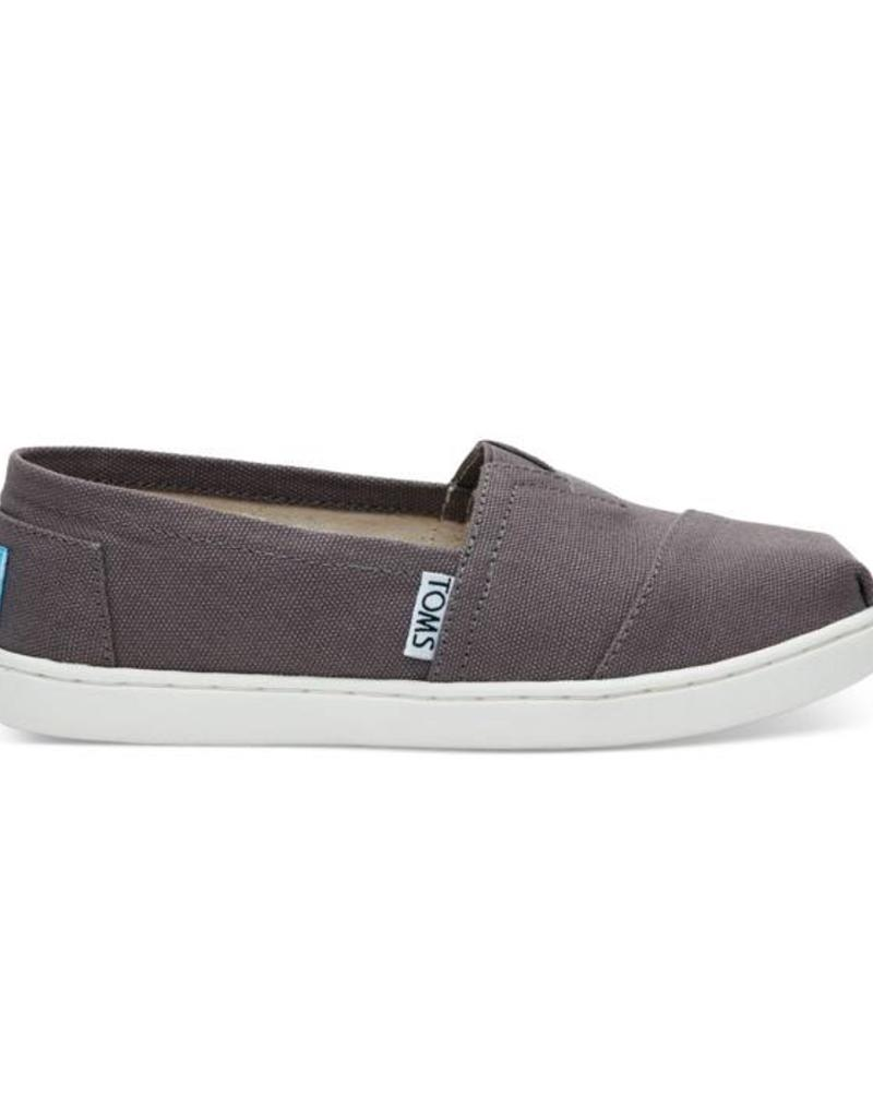 6728ad16e12 Toms Toms Youth Classic Ash Canvas - 42nd Street Clothing