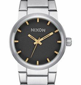 Nixon Nixon Cannon Black Stamped Gold