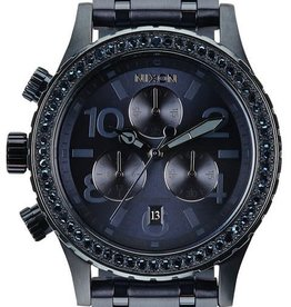 Nixon Nixon 38-20 Chrono All Deep Blue Crystal
