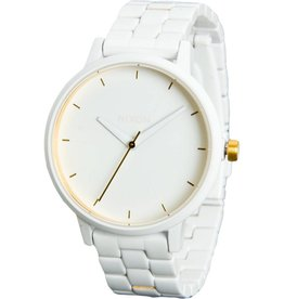 Nixon Nixon Kensington All White Gold