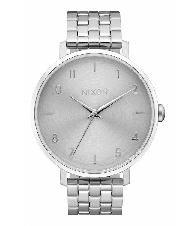 Nixon Arrow All Silver