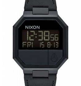 Nixon Nixon Re-Run Leather All Black
