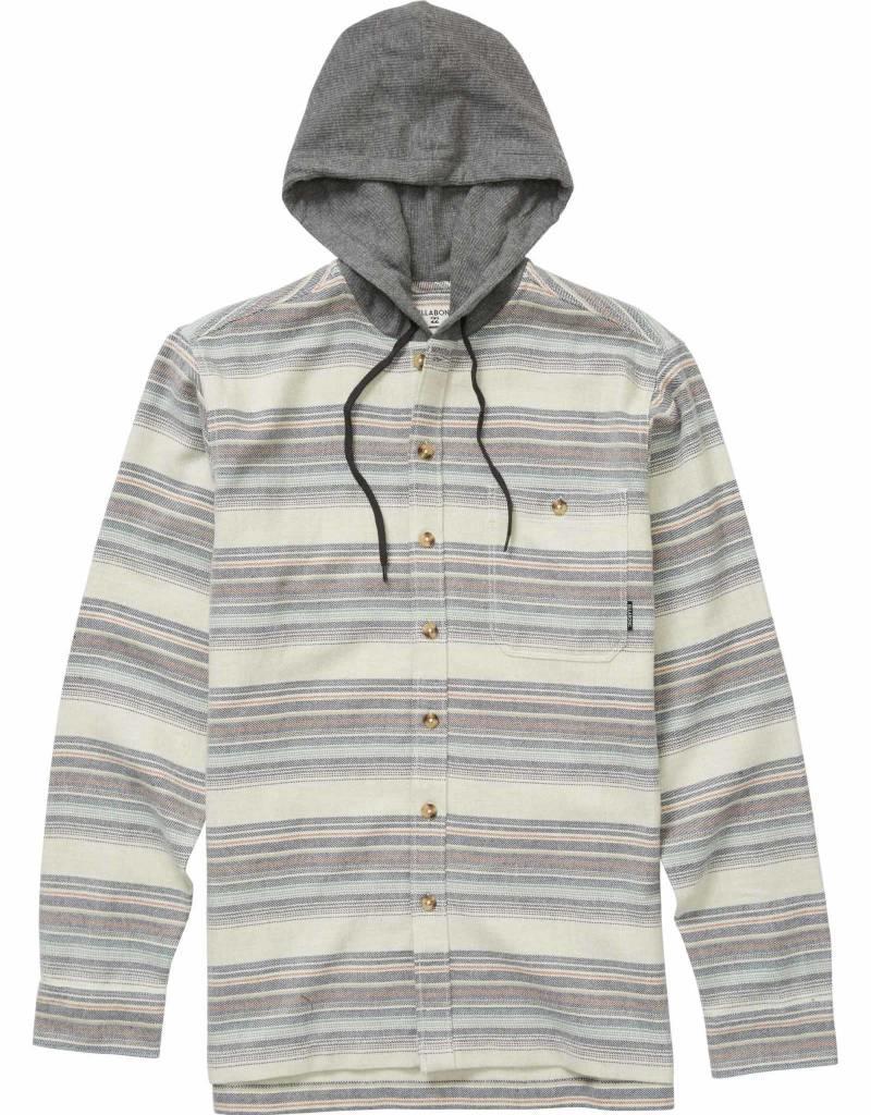 Billabong Billabong Mens Baja Hooded Flannel