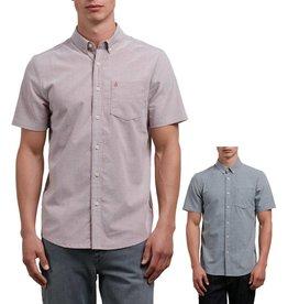 Volcom Volcom Mens Everett Oxford SS Shirt