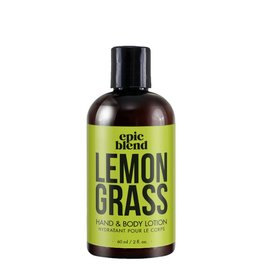 Epic Blend Epic Blend Lemon Grass Hand & Body Lotion 2oz