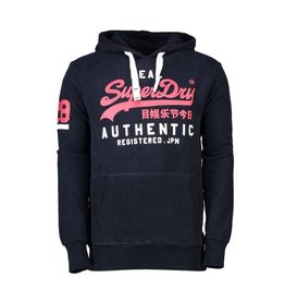SuperDry Super Dry Mens Vintage Authentic Duo Hoody