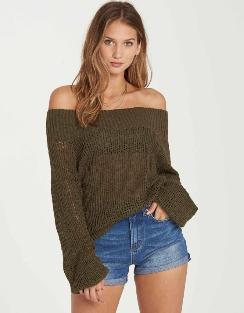Billabong Billabong Womens Rolled Up Sweater