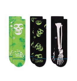 Instance Instance Toddler Misfits Sock 3 pack
