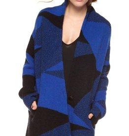 DEX Dex One Button Closure Sweater Cardigan