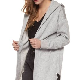 DEX Dex Open Hooded Cardigan