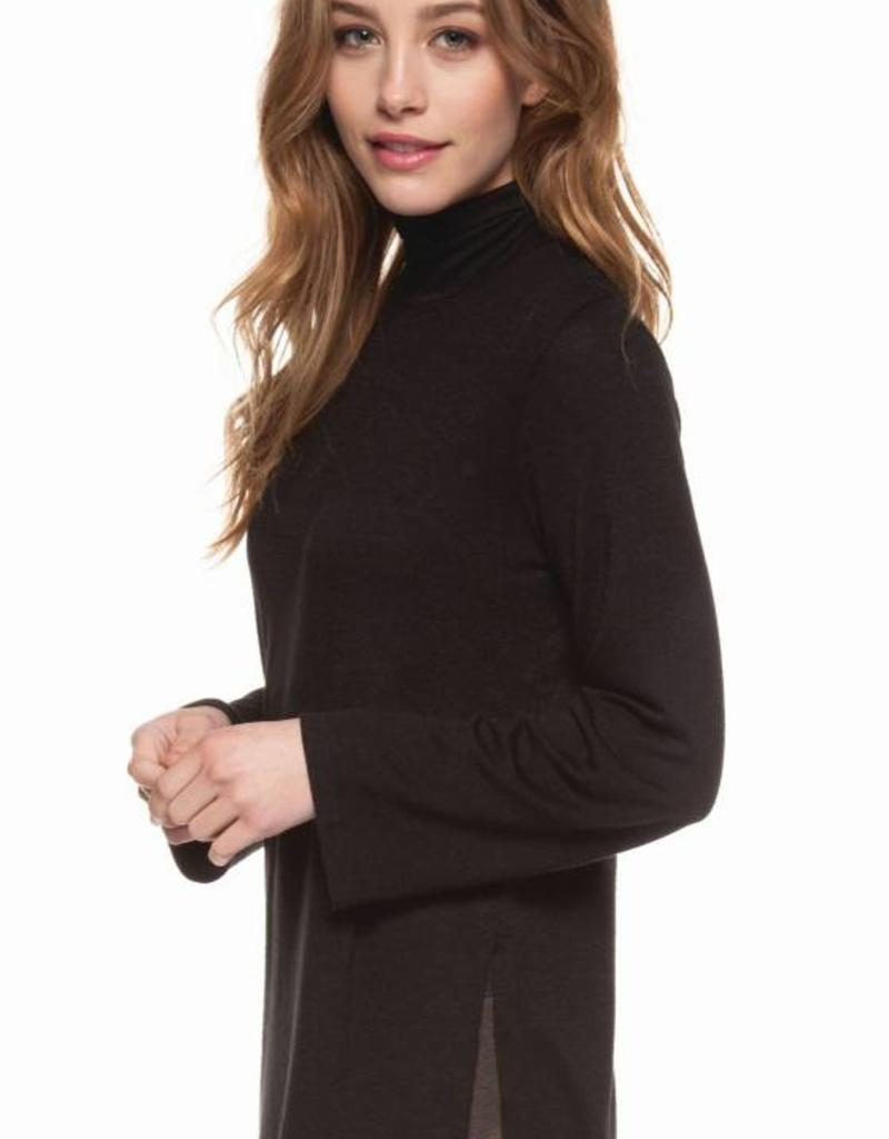 9c856cb8738 Dex Turtle Neck Basic Top - 42nd Street Clothing