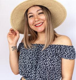 The Santorini Straw Hat