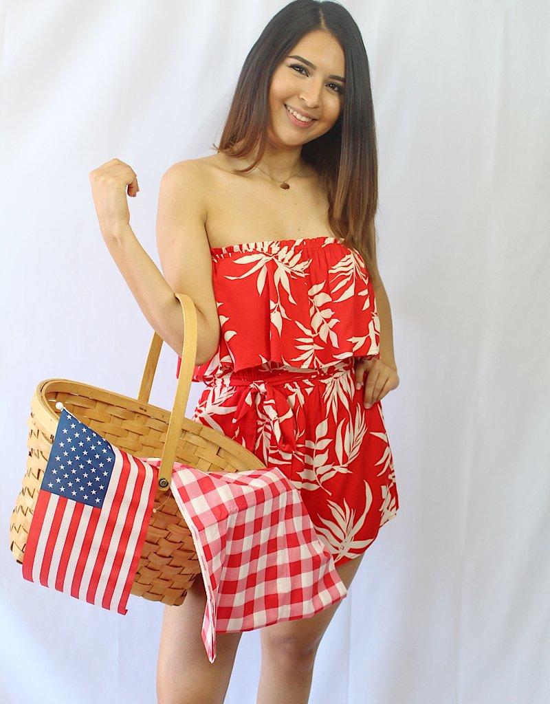USA Babe Romper