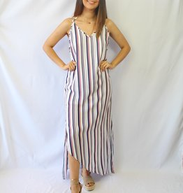 Red, White, & Blue Maxi Dress