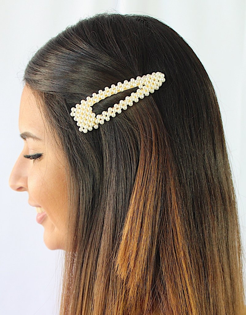 The Lily Pearl Clip