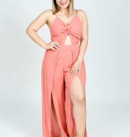 The Zayra Jumpsuit Rust