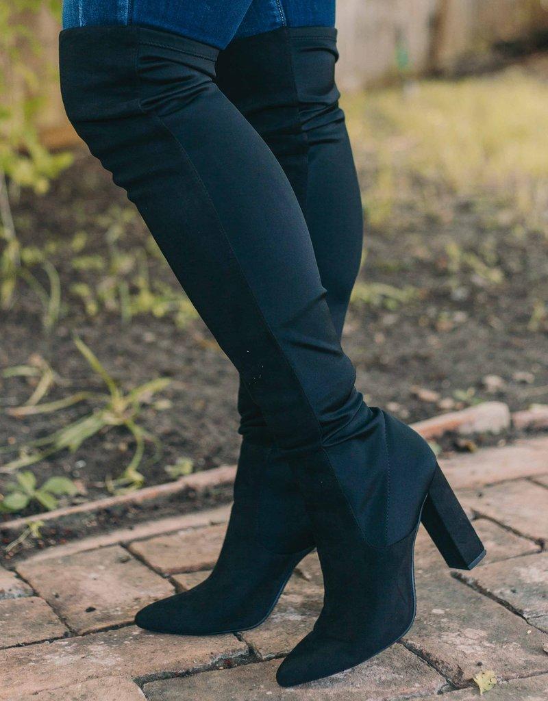 Harper Knee High Booties