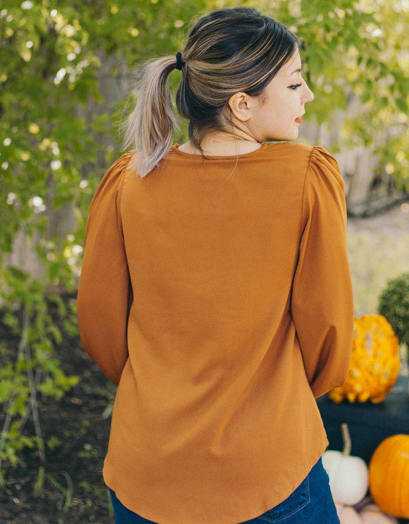 Pumpkin Pies (Rust) Top