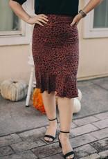 Into the Wild Midi Skirt