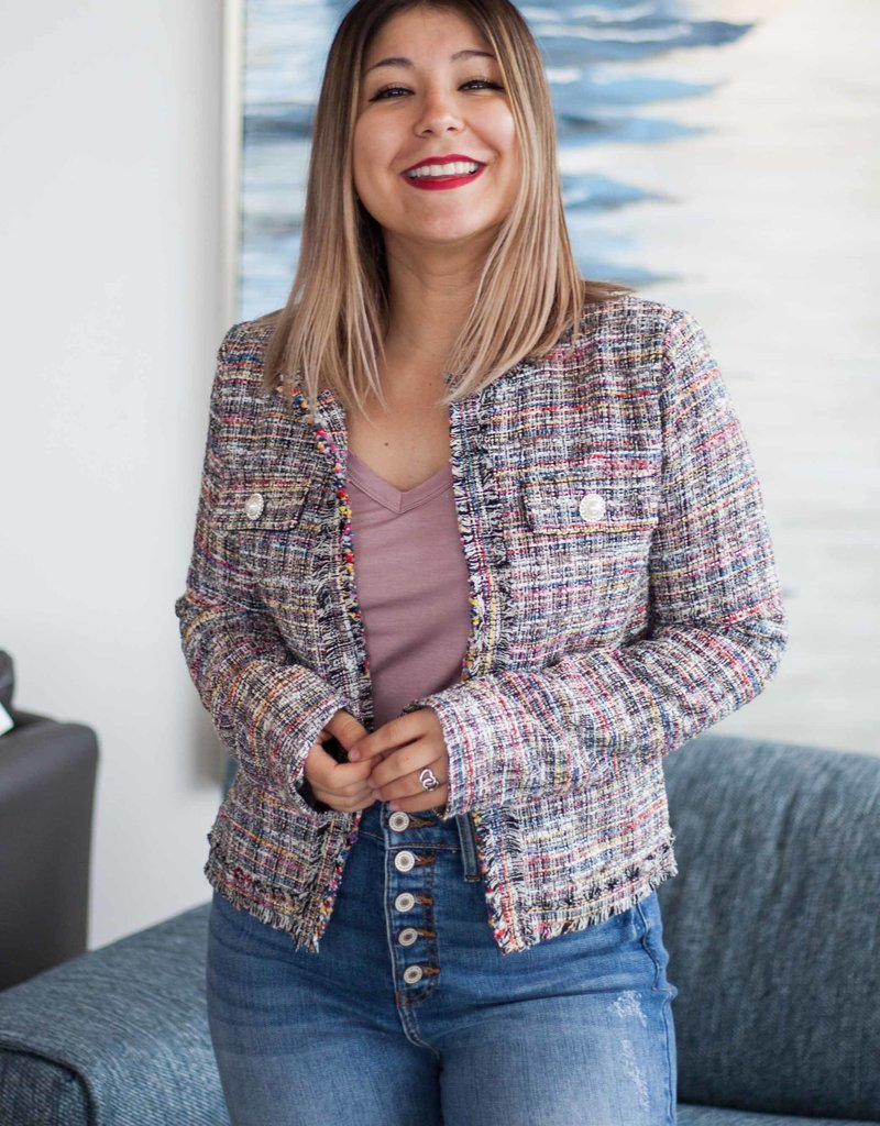 Classy Girl Tweed Jacket