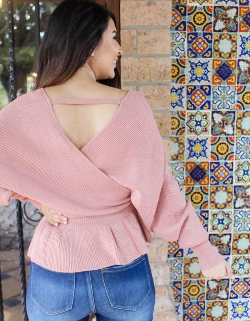 You Make Me Blush Sweater