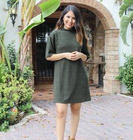 Food Friendly Dress (Olive)