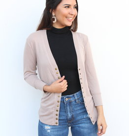 The Perfect Light Cardigan Mocha