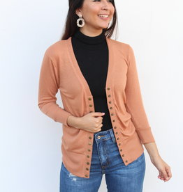 The Perfect Light Cardigan Camel