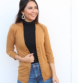 The Perfect Light Cardigan Coffee