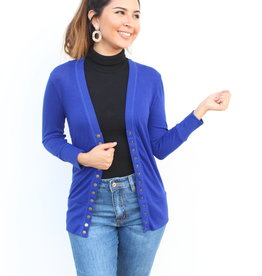 The Perfect Light Cardigan Blue