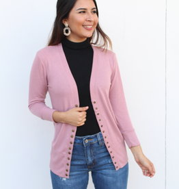 The Perfect Light Cardigan Rose