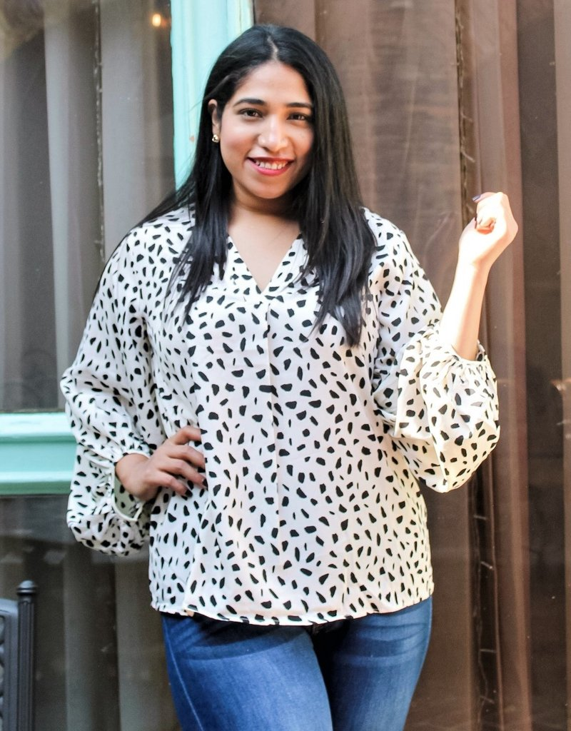 The Stunning in Spots Top