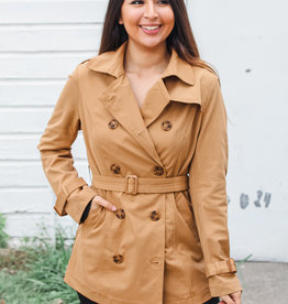 Cute as a Button Coat