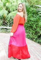 Pretty in Pleats Dress