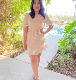 Southern Belle Dress (in Ivory)
