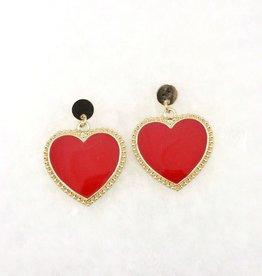 Queen of Hearts Earring