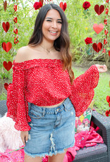 The Love Bug Crop Top