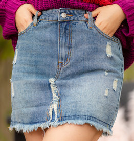 Blue Jean Baby Denim Skirt