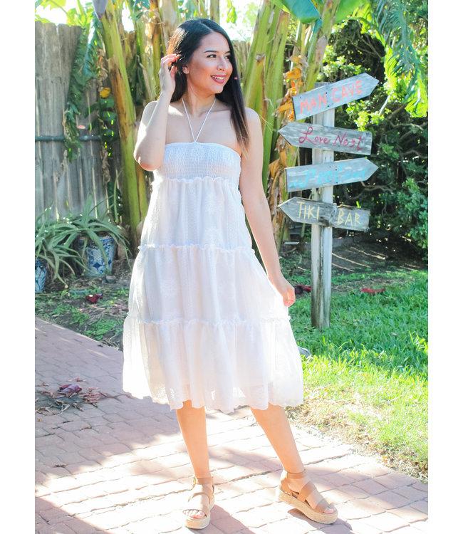 Tequila Sunrise Midi Dress