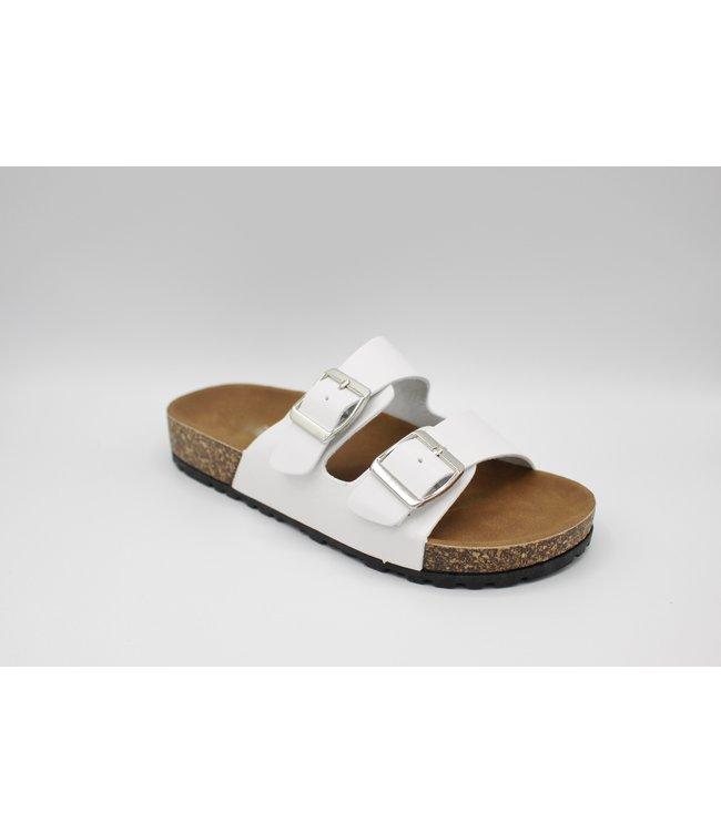 Sunday Sandal - White