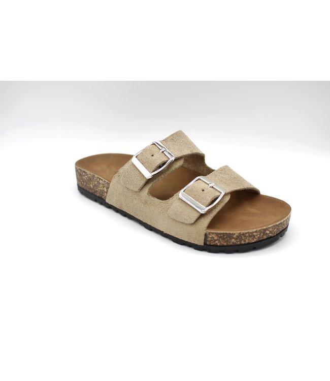 Sunday Sandal - Taupe