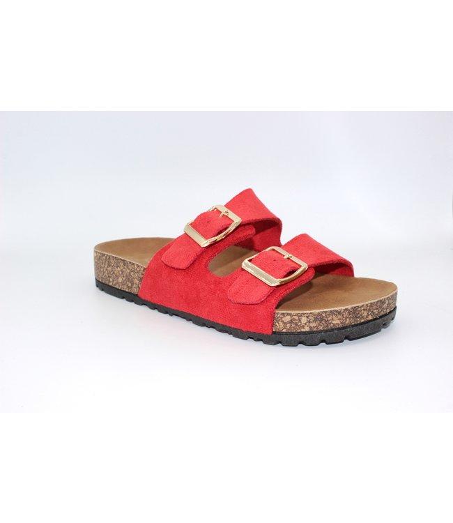 Sunday Sandal - Red
