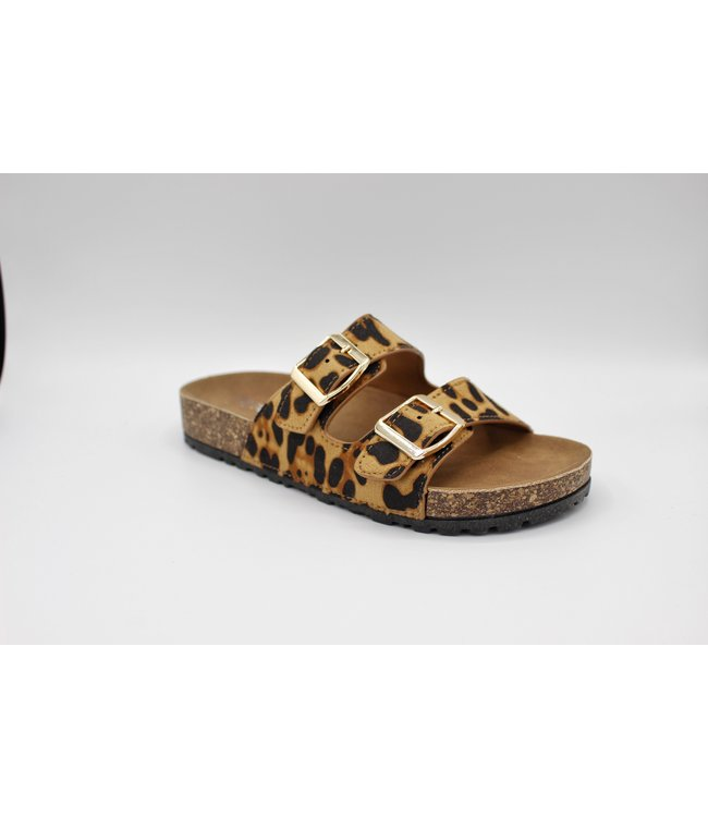 Sunday Sandal - Leopard