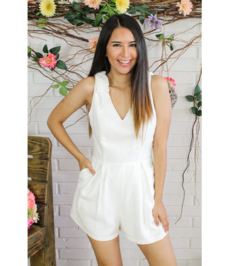 Hollywood Glamour Romper