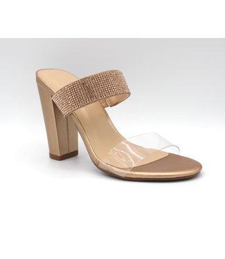 The Smooch Heel (in Rose Gold)