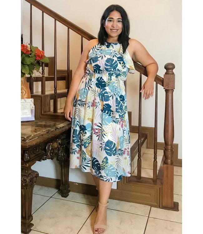 Island Vibes Midi Dress
