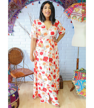 Flowers of the Valley Maxi Dress